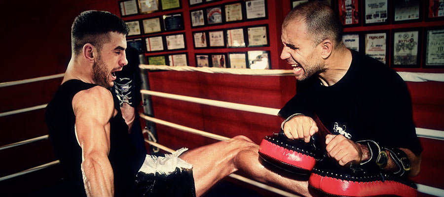 Trening personalny kickboxingu w Puncher Wrocławiu