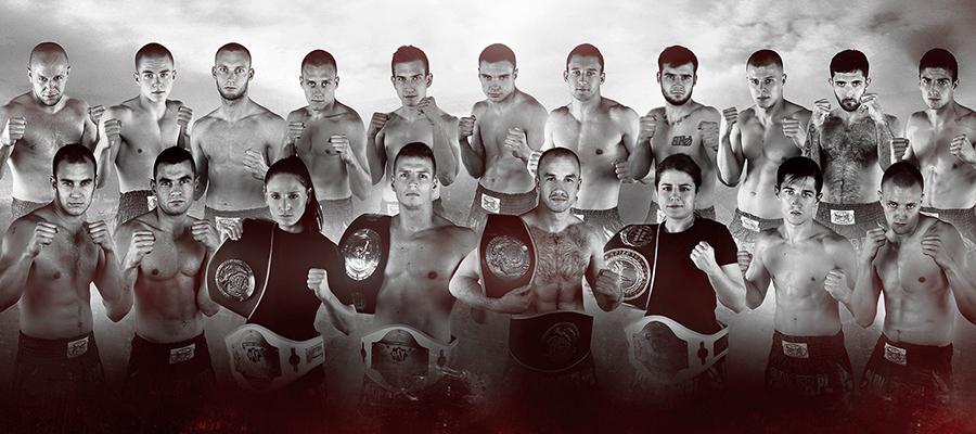 Zawodnicy Klubu Puncher Wroclaw