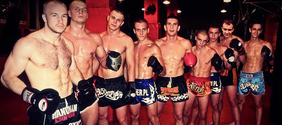 Trening siłowy w Puncher Wrocław