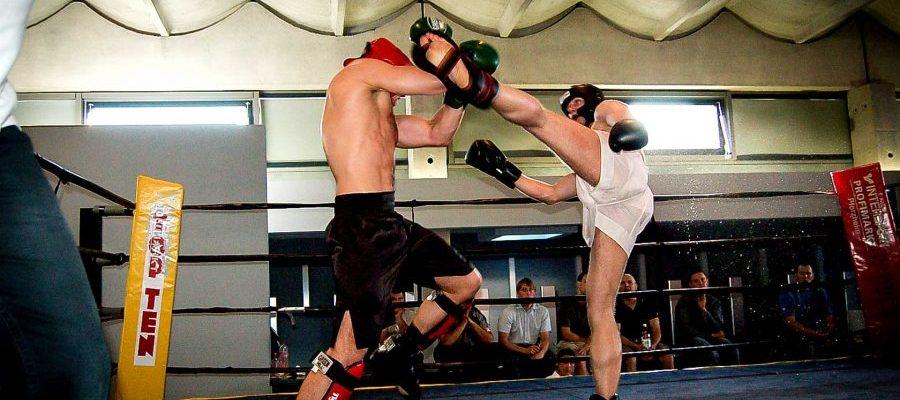 Międzynarodowy turniej Muay Thai Leinefelde 2007. Walka Pawła Jędrzejczyka
