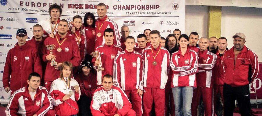 Mistrzostwa Europy w Kickboxingu, Skopje 2006 zdjęcie pamiątkowe po zawodach