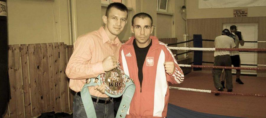 Obóz szkoleniowy Kadry Polski Muay Thai Warszawa 2006. Tomasz Adamek i Janusz Janowski
