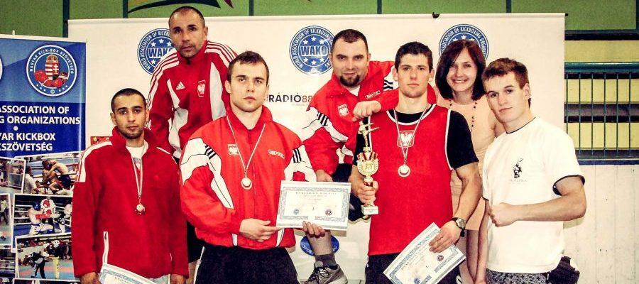 Puchar Świat WAKO w Kickboxingu Szeged 2010. Bartosz Batra, Janusz Janowski i ekipa Palestry Warszawa