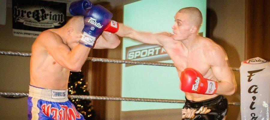 Super Liga Muay Thai Warszawa 2006. Walka Marcina Bachórza