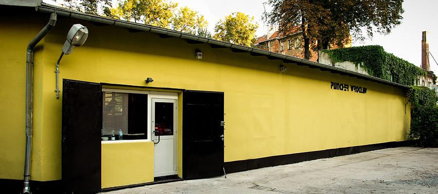 Sala do treningu Kickboxingu we Wroclawiu