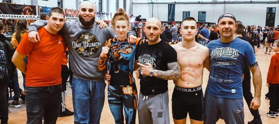 Ekipa Punchera Wrocław po Mistrzostwach Polski MMA w Sochaczewie