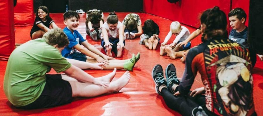 Dla dzieci - trening rozciągania
