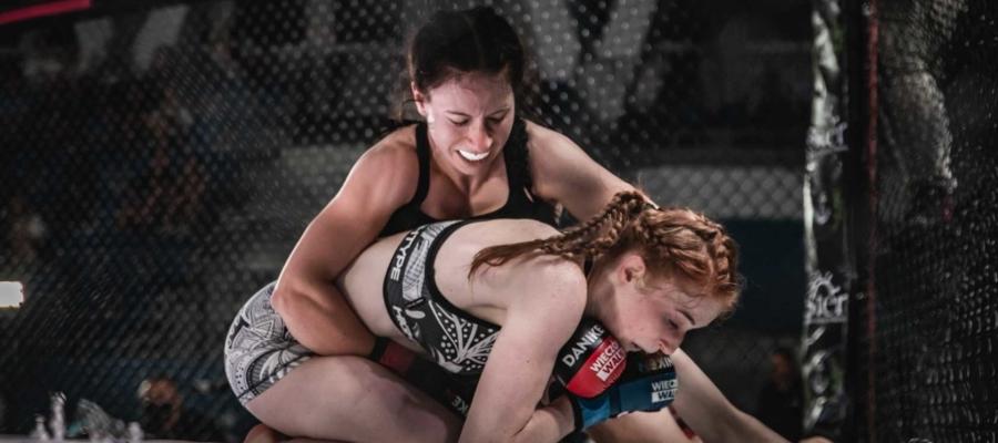 Wieczór walk 6. Weronika Eszer w żółwiu