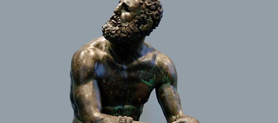 Boks w Starożytnej Grecji. Bokser po walce